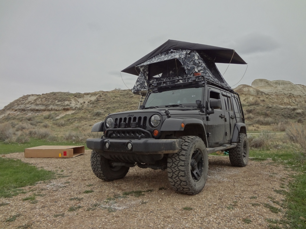 & The Tepui Kukenam Roof Top Tent... - Vagabond Expedition