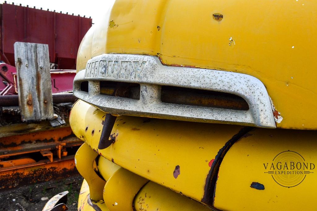 Abandoned Mercury Pickup