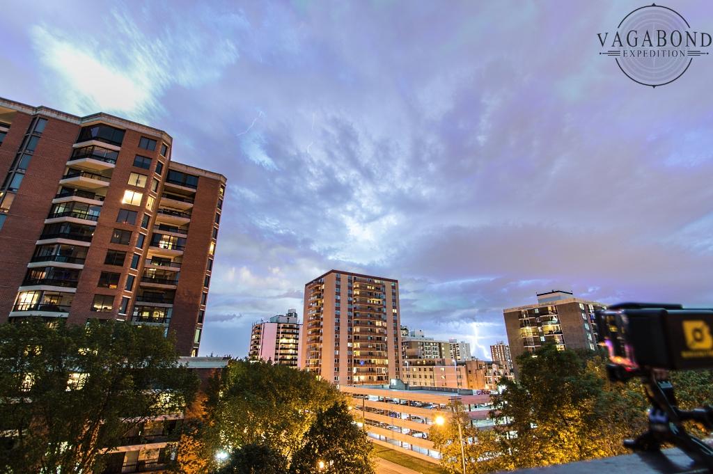 Edmonton Thunder Storm