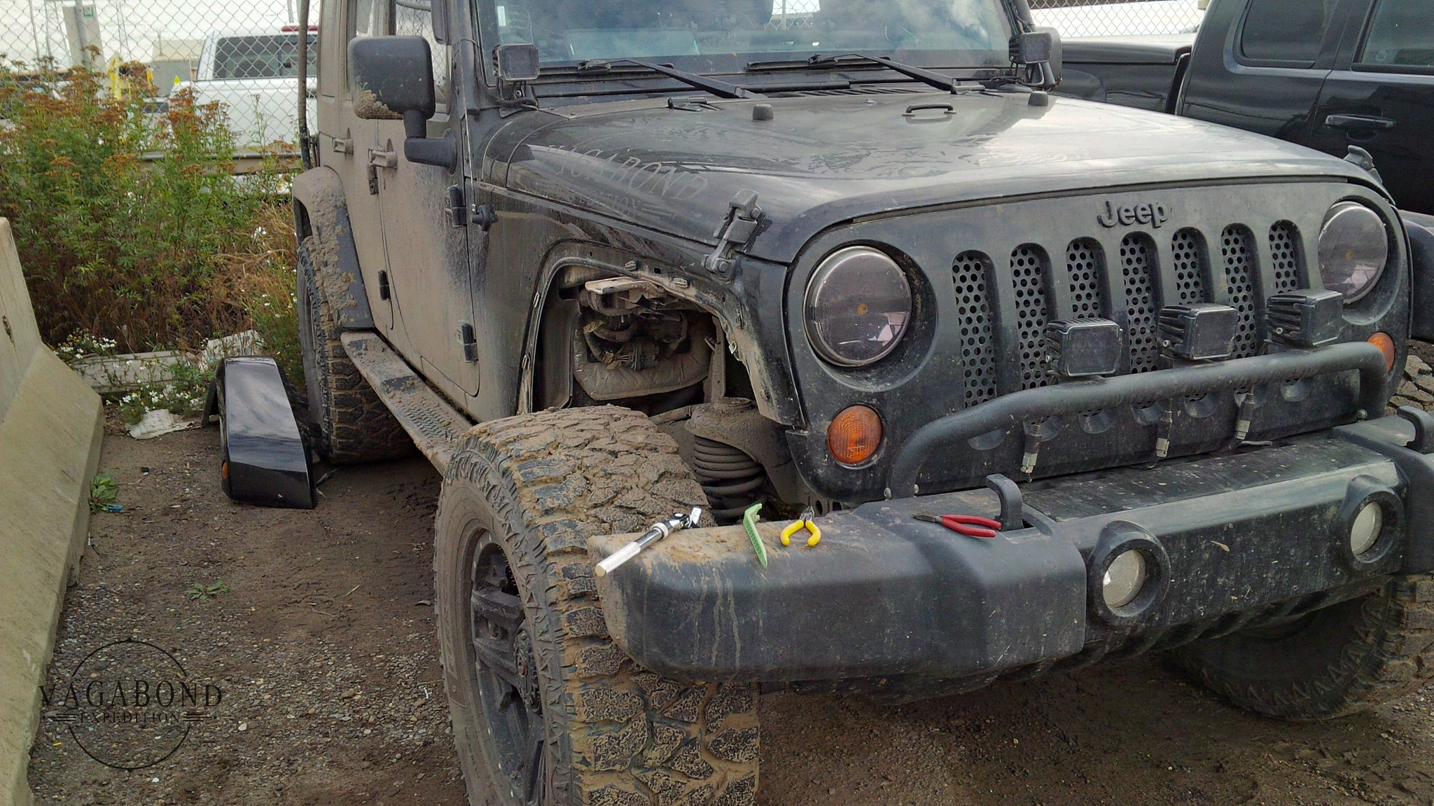 Jeep Fender Flare Replacement