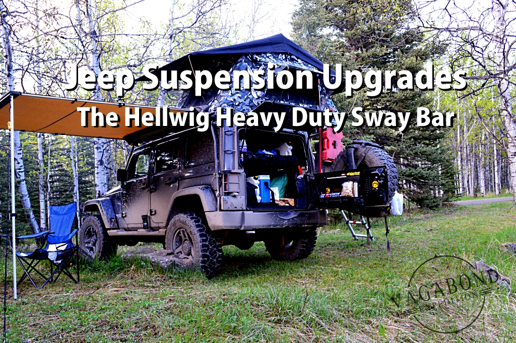 the hellwig heavy duty sway bar for the overland jeep wrangler
